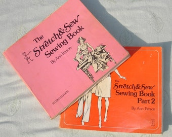 Vintage The Stretch and Sew Sewing Book Part 1 and 2