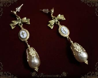 Immaculate Earrings - Pearl