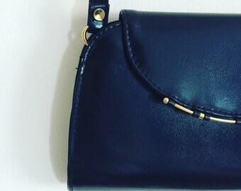Vintage Navy blue Bag