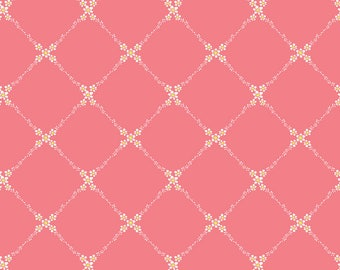 Stacy Peterson - Haven - Meadow Trail Pink - Blend Fabrics (125.101.06.2) - 1 Yard