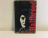 Vintage Book, Halfbreed by Maria Campbell, Canada First Peoples, First Nations, Canadian Memoir