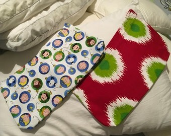 Special listing Thirty One skirt purse cover Peanuts ornaments Handmade