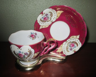 Vintage Tea Cup and Saucer No Markings