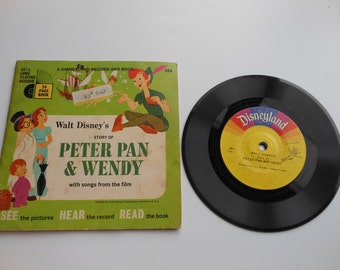 Peter Pan and Wendy Read-Along Book and Record