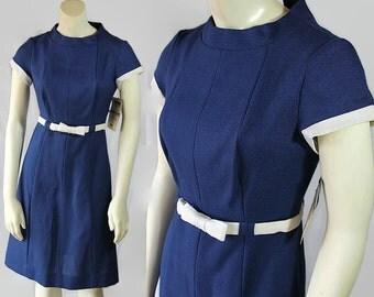 60s Dress E'n C Jr. Deadstock Original Store Tags