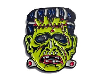 Monster Mash Frankenstein Pin