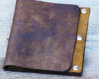READY TO SHIP *** Mens Wallet, Mens Wallets, Mens Leather Wallet, Leather Wallet, Mens Thin Leather Wallet, Boho Leather Wallet, Slim Wallet