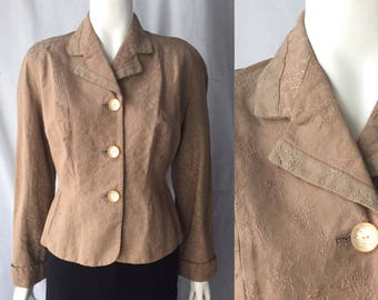 Early 1950s suit jacket blazer