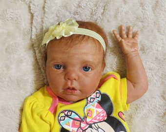 "Reborn Baby, ""Isabel"", Reborn Baby Girl, Gracie Kit, Ready to Ship"