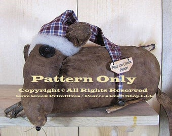 Primitive Mouse Pattern, Sewing Patterns, Craft Patterns