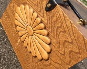 Original Collins wooden handbag