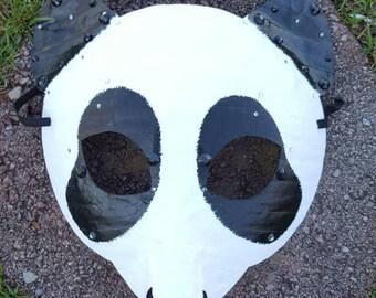 Panda mask, panda costume