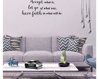 Accept What is Wall Decal