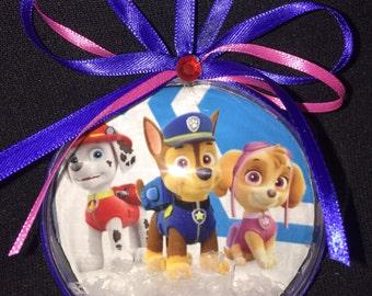 Paw patrol ornament
