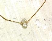Herkimer Diamond necklace - clarity, healing, transformation - ZEN by Karen Moore