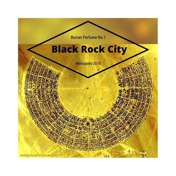 Black Rock City: Desert Perfume Oil. A Scent Portrait of the Black Rock Desert in Nevada, home of Burning Man, a Woody, Unisex, Fragrance.