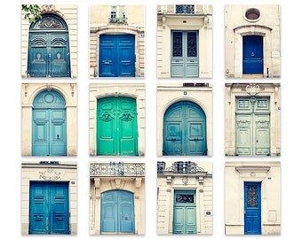 Paris photography, Paris wall art, Paris prints, Paris door art, Parisian doors, Paris decor, mint wall art, Paris photos, francophile