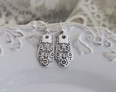 Spoon Jewelry Earrings Silverware Earrings Jewelry - PRECIOUS 1941 - STERLING Silver Ear Wires Keepsake Gift Under 35 & Ready To Ship