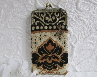 245A - iPhone 6 Case Fabric, iPod Touch Case, Cell Phone Case, Samsung Galaxy Case, cover, eyeglass case, ..., handmade