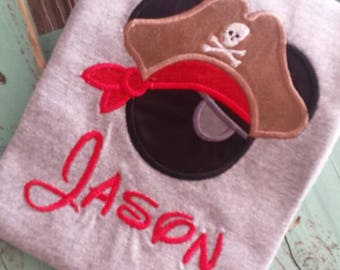 Mouse ears Pirate....Mickey Mouse Pirate..Disney.....DisneyWorld..Disneyland...Pirates