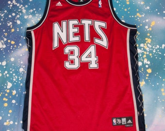 NETS #34 Harris Basketball Jersey Size  2XL