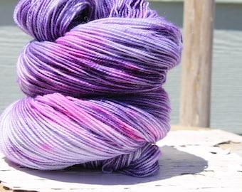 Moondust - merino, nylon, stelina, superwash yarn, indie dyed yarn, hand dyed, knitting, yarn with sparkle