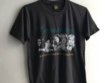 Grage Punk Rock Heavy Metal Grunge T-Shirt S-M