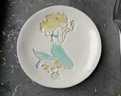Mermaid Ceramic Trinket Dish