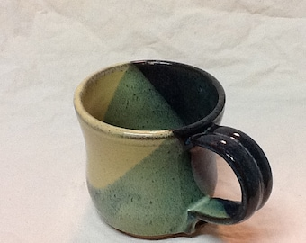 20% Off!  Stoneware Coffee Mug- Stone Penguin Pottery