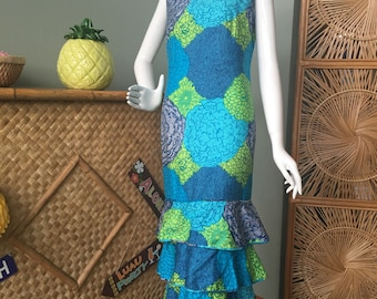 Sweet Malia Honolulu muumuu/dress 1960's - 70's