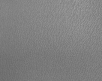 Semi Stretch Vinyl Light Grey 56 Inch Wide Fabric by the Yard - 1 Yard