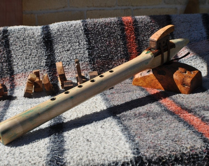 Hard Maple G scale Native American Style flute by crazy bear