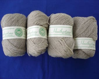 Wonoco Heathertone 100% Pure Virgin Wool - Buff - Four