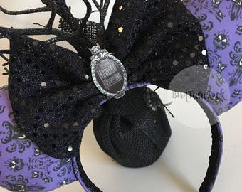Haunted Mansion Mouse Ears // by Born Tutu Rock