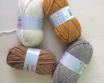 YARN SALE Katia Canada Chunky Yarn 100% Acrylic Knitting