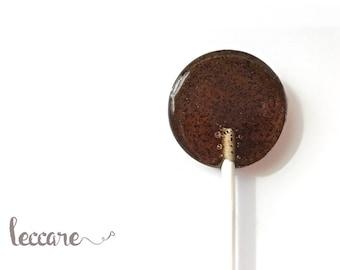 6 Hard Candy  Lollipops // Cinnamon Latte // Perfect little Wake me Up // Micro ground Coffee // Coffee Addict Gift