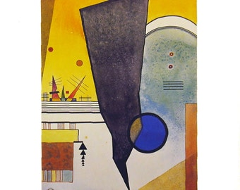 Wassily Kandinsky-Curved Tip-1992 Poster