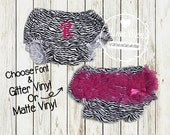 SALE SALE - Newborn Baby Girl Hot Pink Zebra Bloomers, Baby Diaper Cover, Baby Girl, Photo Prop, Coming Home Baby, Baby Shower Gift