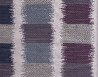 6.25 Yards Knoll Upholstery Fabric Ikat Square in Chill Blue Purple K17035 (EG)