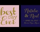 Natalie's wedding koozies