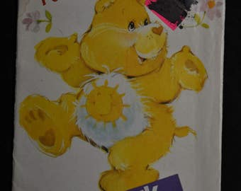 Clearance! - 1980's Funshine Bear - Care Bears - UNCUT - Butterick 6225