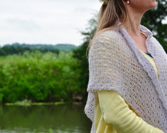 The Serenity Shawl - Instant Download Crochet PDF Pattern