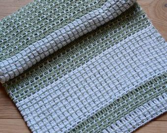 Pear Drops Baby Crochet Blanket - Instant Download PDF Pattern