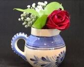 On Sale Selected Items Vintage Quimper jug, Vintage Quimper creamer, Vintage Quimper, Antique Quimper, Vintage milk jug, French milk pitcher