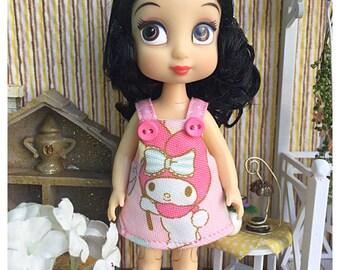 "Mini Disney Animator Outfit / Obitsu11 Outfit : ""My Melody Dress"" (Dress)"