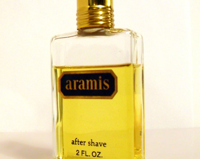 Vintage 1980s Aramis by Aramis 2 oz After Shave Splash MEN'S COLOGNE