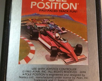 Pole position atari 2600 game cartridge from 1982