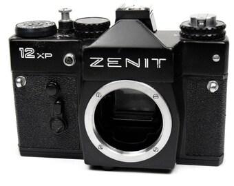 Zenit 12XP Vintage Retro 1980s 35mm SLR Film Lomo Camera Body