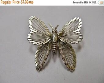 On Sale MONET Wire Butterfly Pin Item K # 2979