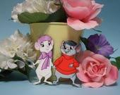 The Rescuers Bernard & Miss Bianca cutout